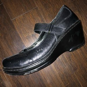 BOC black shoes. Good used condition. Velcro strap